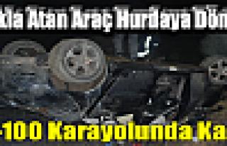 Tosya D-100 'de TRAFİK KAZASI