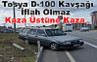 Tosya D-100 İflah Olmaz-Trafik Kazası