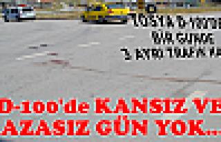 Tosya D-100'de 1 Günde 3 Ayrı Trafik Kazası