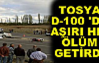 Tosya D-100'de Aşırı Hız Ölüm Getirdi