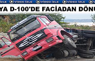 TOSYA D-100'DE FACİADAN DÖNÜLDÜ