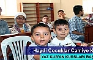 TOSYA'DA YAZ KUR'AN KURSLARI BAŞLIYOR