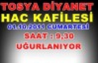 Tosya Diyanet Hac Kafilesi yarın Uğurlanıyor