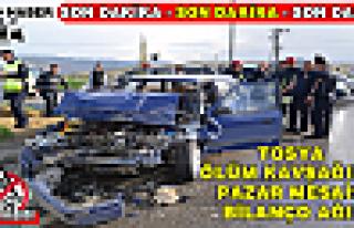 Tosya Dörtyol Kavşağında 1 günde İki Trafik...