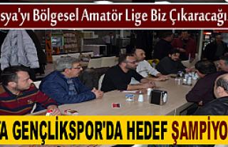TOSYA GENÇLİKSPOR'DA TEK HEDEF 2.AMATÖR LİGDE...
