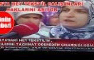 Tosya Hey Tekstil Çalışanları Haklarını Arıyor
