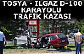 Tosya-Ilgaz D-100 Trafik Kazası