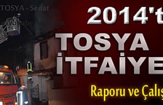 Tosya İtfaiyenin 2014  Karnesi