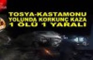 Tosya-Kastamonu Yolunda Trafik Kazası - 1 Ölü -1...