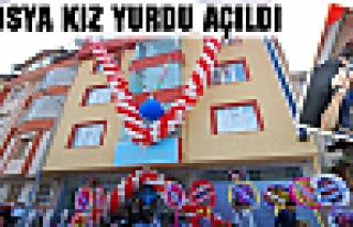 TOSYA KIZ YURDU AÇILDI