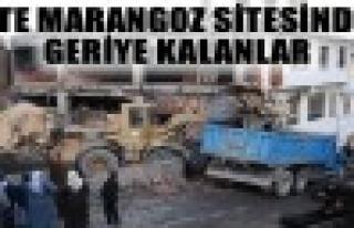 Tosya Marangozlar Sanayi Sitesi Yangınından Geriye...