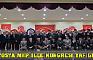 Tosya MHP İlçe Kongresi Yapıldı