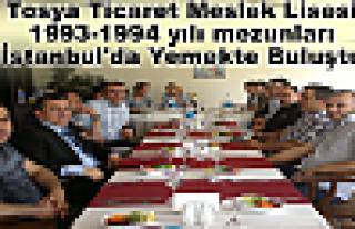 Tosya Ticaret Meslek Lisesi 1993-1994 yılı mezunları