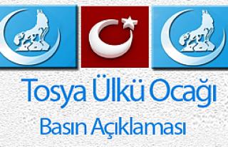 Tosya Ülkü Ocağı'ndan 24 Kasım Öğretmen Günü...