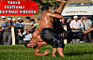 Tosya Yağlı Güreş Finali