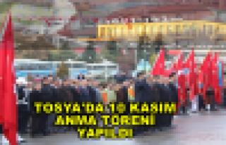 Tosya'da 10 Kasım Anma Töreni düzenlendi