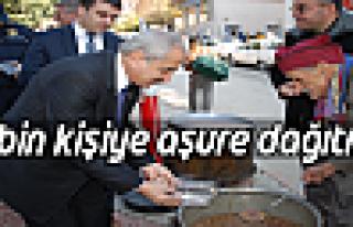 Tosya'da 10Bin Kişilik Aşure Vatandaşa İkram Edildi...