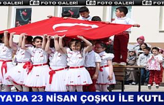 Tosya'da 23 Nisan Coşkuyla Kutlandı