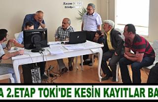 TOSYA'DA 2.ETAP TOKİ ÖN KAYITLARI BAŞLADI