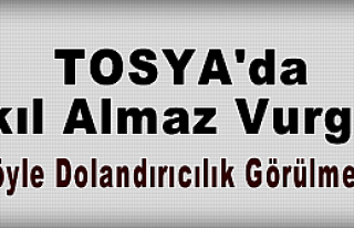 Tosya'da Akıl Almaz Dolandırıcılık!