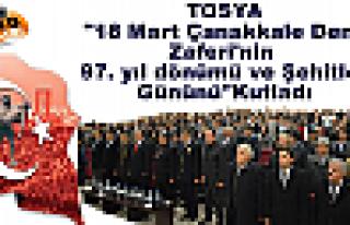 Tosya'da Çanakkale Deniz Savaşı ve Şehitler Günü...