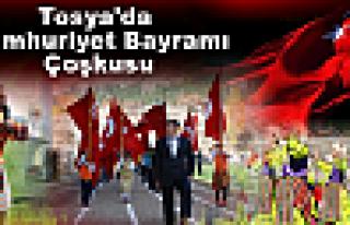 Tosya'da Cumhuriyet Bayramı Çoşkusu