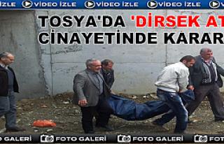 TOSYA'DA 'DİRSEK ATTI' CİNAYETİNDE KARAR AÇIKLANDI