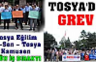 TOSYA'DA GREV