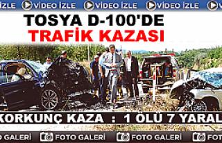 Tosya'da Gurbetçi Aileler Kaza Yaptı: 1 Ölü 7...