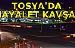 Tosya'da Hayalet Kavşak