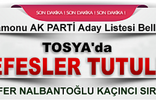TOSYA'DA HEYECAN DORUKTA