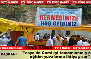 Tosya'da İhtiyaç Sahibi Öğrenciler Yararına Kermes...