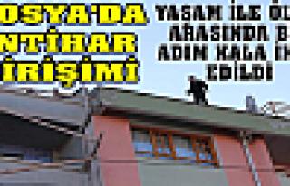 Tosya'da İntihar Girişimi