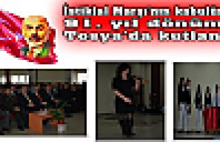 Tosya'da, İstiklal Marşı Kutlamaları Muhteşem...