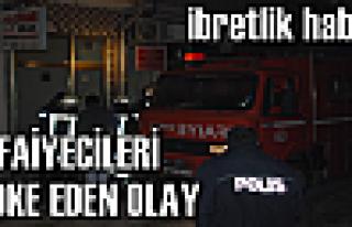 Tosya'da İtfaiyecileri Şaşkına Çeviren Olay...
