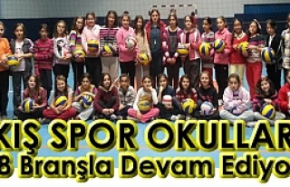 Tosya'da Kış Spor Okullarına Büyük İlgi