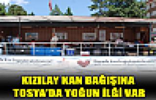 Tosya'da Kızlay Kan Bağışı Kampanyasına Yoğun...