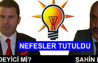 Tosya'da Nefesler Tutuldu Ak Parti'nin Başkan Adayı...