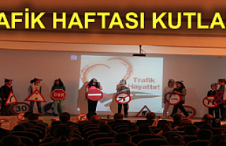 TOSYA'DA ÖĞRENCİLER TRAFİK ANDI OKUDULAR