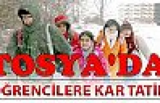 Tosya'da Okullar 1 Gün Tatil 29.02.2012