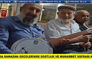 Tosya'da Sohbet Muhabbet Sofrası Geleneği Yaşatılmaya...