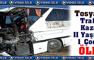 Tosya'da Trafik Kazasında 1 Çocuk ÖLDÜ