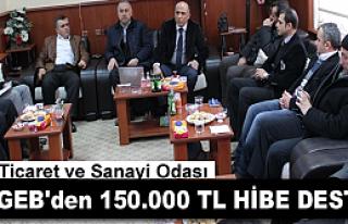 TOSYA'LI SANAYİCİLERE KOSGEB DESTEĞİ ANLATILDI