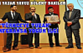 ''Türkçeye Tuzak'' Konferansa Yoğun ilgi