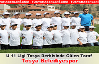 U 11 Ligi Tosya Derbisinde Gülen Taraf Tosya Belediyespor...