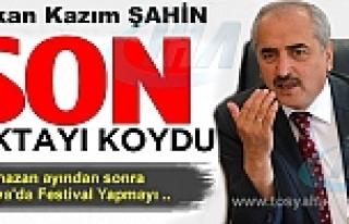 ULUSLARARASI TOSYA KÜLTÜR VE PİRİNÇ FESTİVALİ...