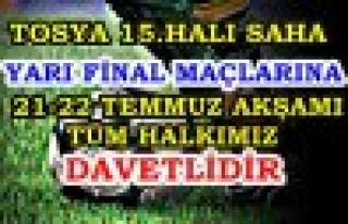 YARI FİNAL MAÇA DAVET