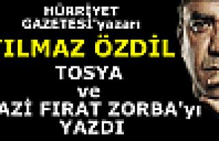 Yılmaz ÖZDİL ''Tosya ve Gazi Fırat ZORBA '' Köşe...