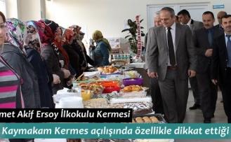 Mehmet Akif Ersoy İlkokulu Kermesi Dualarla Açıldı