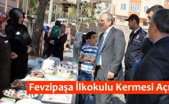 Fevzipaşa İlkokulu Kermesi Açıldı